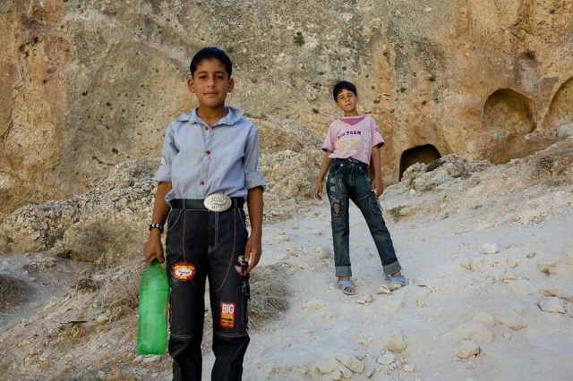 Kids in Maaloula