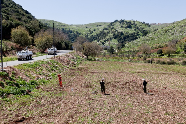 Demining in the South of Lebanon